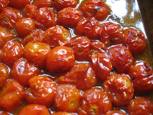Slow Roast Cherry Tomatoes