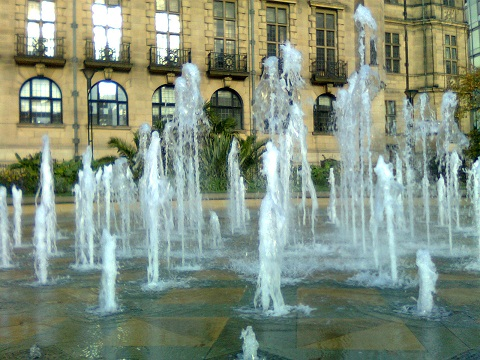 sheffield fountain peace gardens