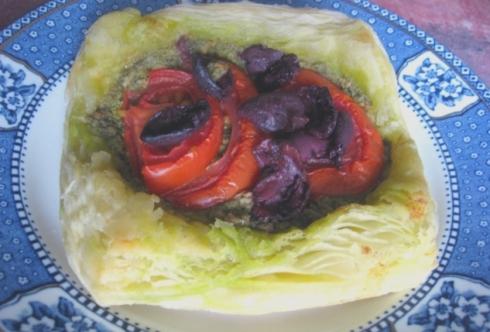Pesto Tarts