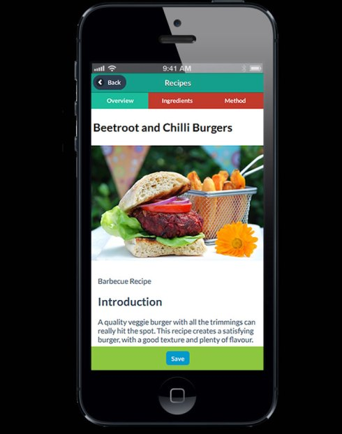 Veg soc recipe app